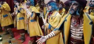Comparsa Los Lucero en el Carnaval