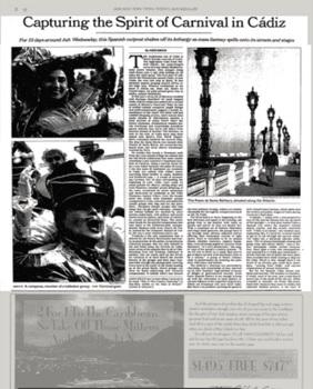 New York Times carnaval Cádiz 1005.