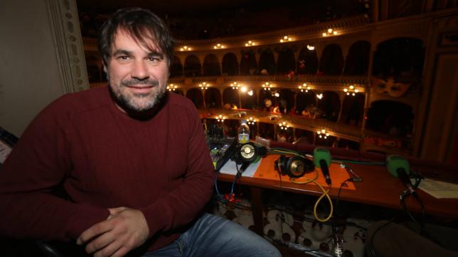 Tino Tovar en el Teatro Falla durante el COAC
