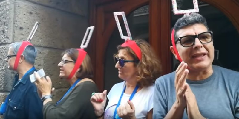El cuarteto de Sagasta en el Carnaval de Cádiz
