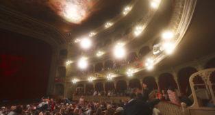 El Teatro Falla durante el COAC 2019