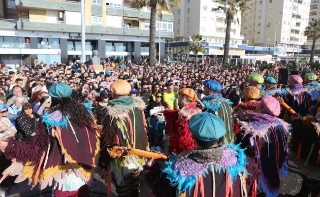 Batalla coplas Paseo Marítimo Cádiz