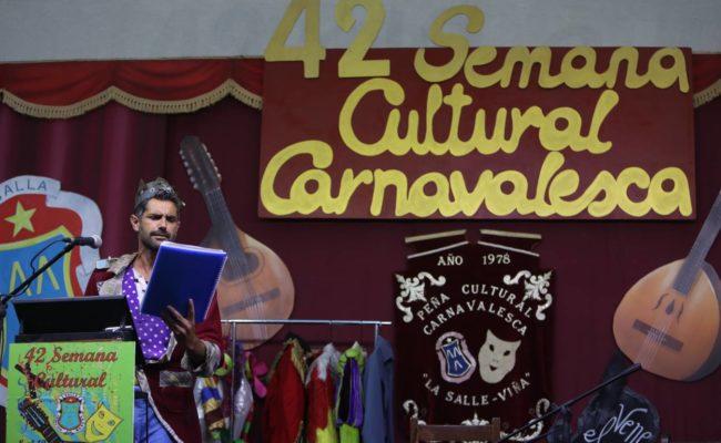 El pregón de Bienvenido abre la semana carnavalesca viñera