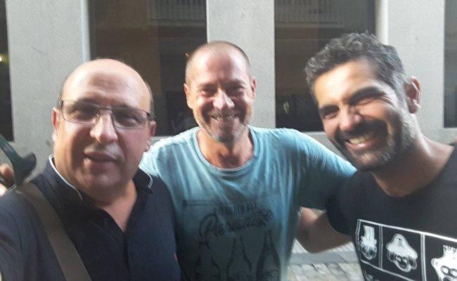 Nandi Migueles, Paco Medina y Jesús Bienvenido, juntos en el Carnaval de Cádiz 2020