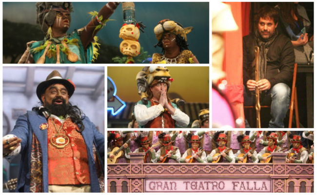 Los regresos al Concurso de Agrupaciones del Carnaval de Cádiz 2020
