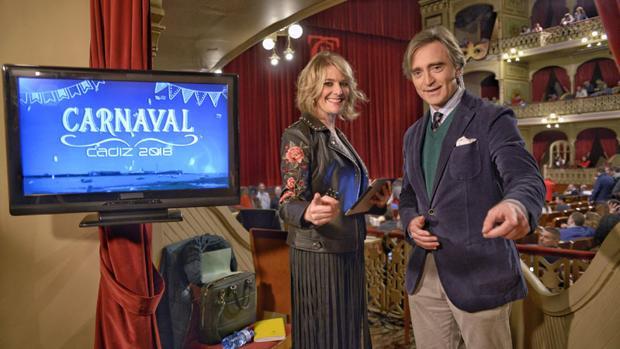 Canal Sur retransmitiendo el Carnaval