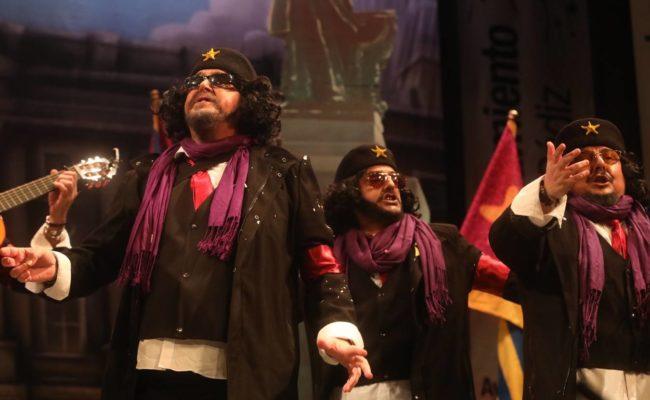 Joaquín Revuelta, con Er Chele Vara