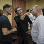 """Comparsa de Martínez Ares """"La Chusma selecta"""" Preparándose para el Falla"""